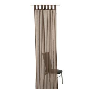 Schlaufenschal T-Plain - Braun - Maße: 140 x 255 cm, Tom Tailor