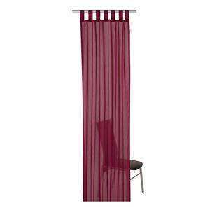 Schlaufenschal T-Plain - Bordeaux - Maße: 140 x 255 cm, Tom Tailor