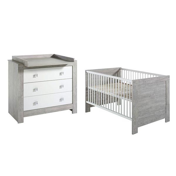 Babyzimmer Set Nordic Driftwood Dekor Weiss Schardt Von Home24