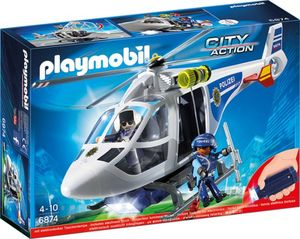 PLAYMOBIL® 6874 - Polizei-Helikopter - Playmobil City Action
