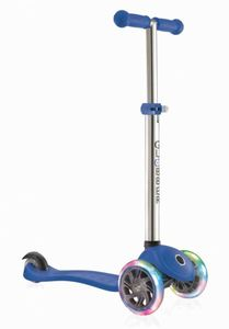 Scooter Globber Primo lights - blau