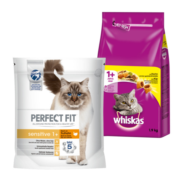 Perfect fit sensitive / Whiskas 1+