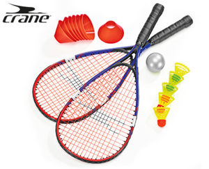 crane®  Turbo-Badminton-Set