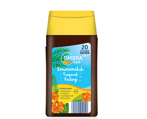 OMBRA sun Tropical Feeling Sonnenmilch oder -spray LSF 20