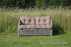 Grasekamp Universell Lounge Kissen 73x73cm Schwarz  Palettenkissen Sitzkissen Auflage