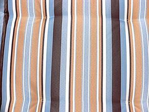Grasekamp 4 Stück Auflagen Marine Kissen Polster  Garten-Sessel Klapp-Stuhl