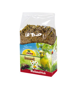 JR Farm Birds Premium Vogelfutter für Wellensittiche, 1 kg
