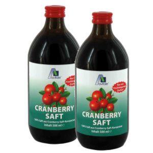 Avitale Cranberry Saft Doppelpack