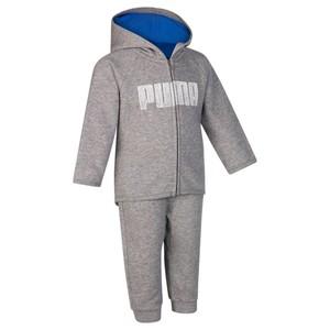PUMA Trainingsanzug Baby grau/blau, Größe: 18 M. - Gr. 80
