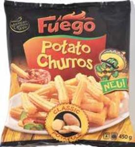 Fuego Potato Churros