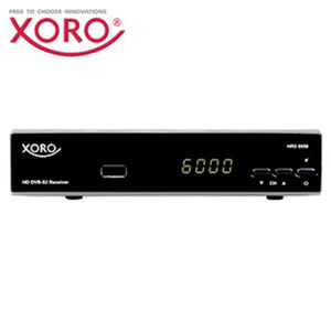 HDTV-Sat-Receiver HRS 8556v2 4-stelliges Display, EPG, Einkabel-System, HDMI-/Scart-/USB-/Ethernet-Anschluss