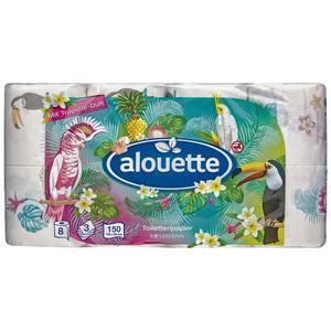 alouette Toilettenpapier mit Tropical-Duft
