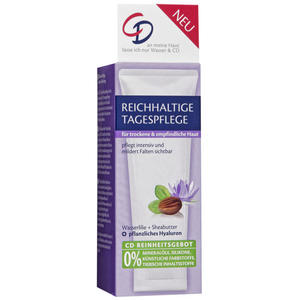 CD reichhaltige Tagespflege Wasserlilie + Sheabutter