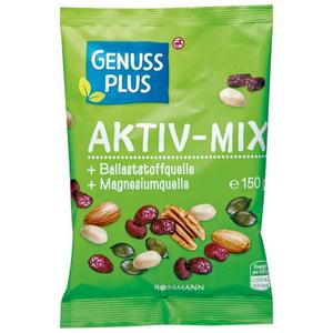 GENUSS PLUS Aktiv-Mix 1.33 EUR/100 g