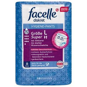facelle diskret Hygiene-Pants super, Gr. L