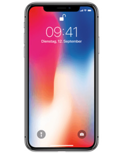 iPhone X Outlet mit o2 Free M mit 10 GB