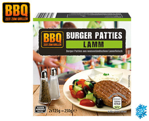 BBQ Burger Patties