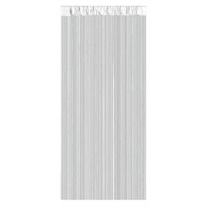 Duschvorhang Skyline Weiß ca. 180 x 200 cm