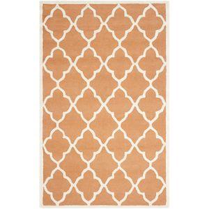 Teppich Noelle handgetuftet - Wolle - Bernstein - 152 x 243 cm, Safavieh
