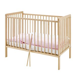 Babybett Hanna - Holzfarben, Pinolino