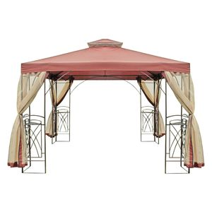Pavillon Tanaro - Stahl / Webstoff, Garden Pleasure