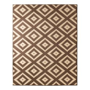 Teppich Raute - Schokoladenbraun - 120 x 170 cm, Hanse Home Collection