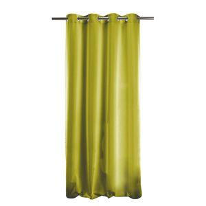Samtvorhang Topas - Webstoff - Apfelgrün, Apelt