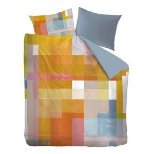 Bettwäsche Architecture - Baumwollstoff - Mehrfarbig - 200 x 220 cm + 2 Kissen 80 x 80 cm, OILILY