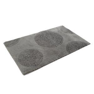 Badteppich Yoga - Kunstfaser - Grau / Silber - 60 x 100 cm, Esprit Home