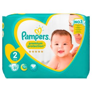 Pampers Premium Protection New Baby Größe 2, 4-8 kg, 31 Windeln