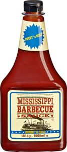 Mississippi Barbecue Sauce Sweet`n Mild 1560 ml