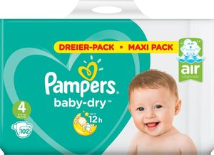 Pampers Baby-Dry Gr. 4, 102 Windeln