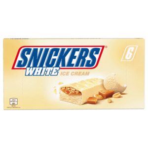 Snickers White Ice Cream 6x40,8g