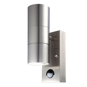 EEK A++, LED-Außenleuchte Style I - Edelstahl - 2, Globo Lighting