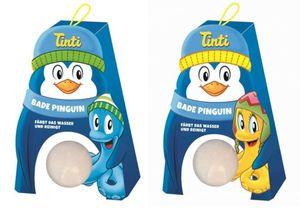 Tinti Bade Pinguin - 2 Badekugeln - in verschiedenen Ausführungen