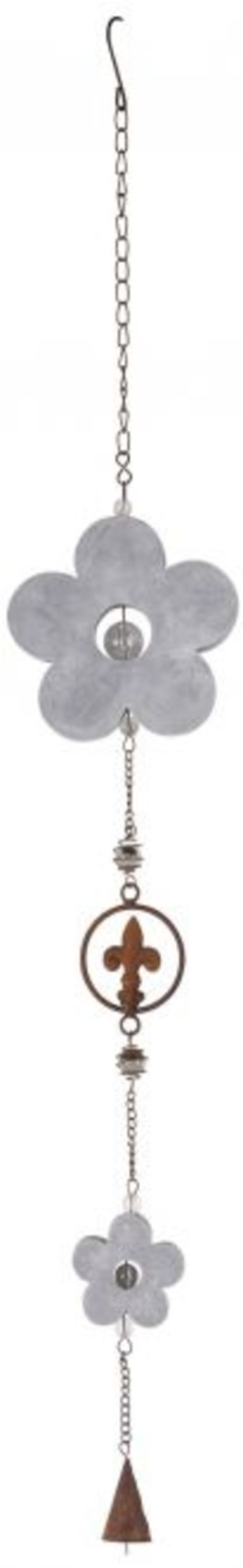 Girlande - aus Metall - 14 x 2,5 x 90 cm