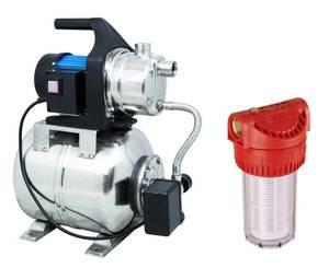 Hauswasserwerk HWW 1000 E + Vorfilter 7