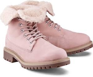 Winter-Boots von Cox in rosa für Damen. Gr. 36,37,38,39,40,41,42