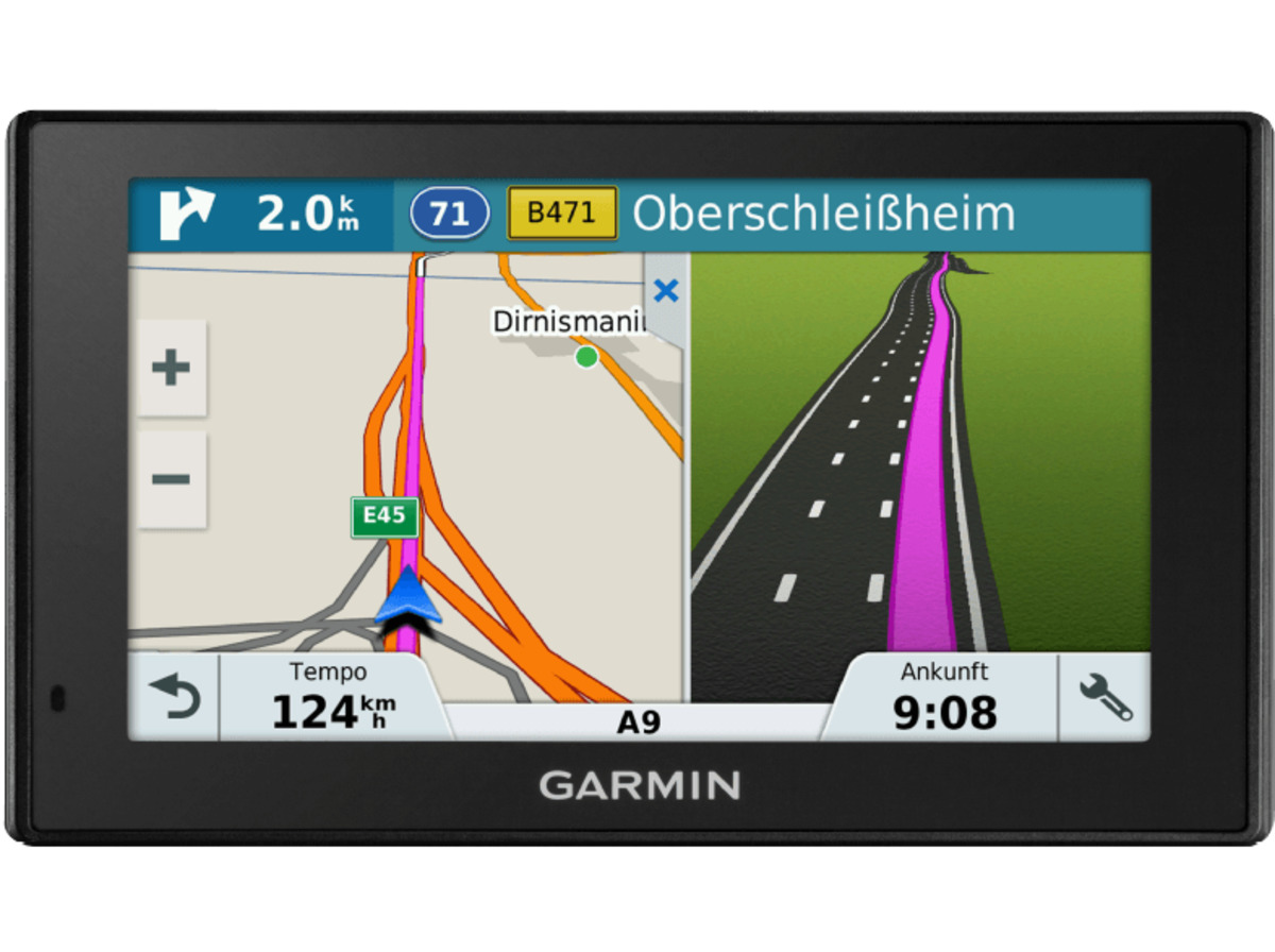 garmin drivesmart 51 lmt d eu pkw navigationsger t 5 zoll kartenmaterial europa 46 l nder. Black Bedroom Furniture Sets. Home Design Ideas