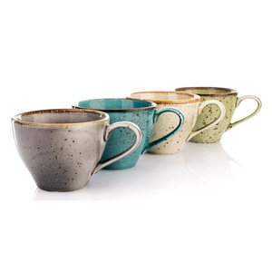 CREATable Tasse /Kaffeetasse 200 ml NATURE COLLECTION Green Grün