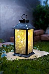 LED-Laterne mit Hologramm-Effekt