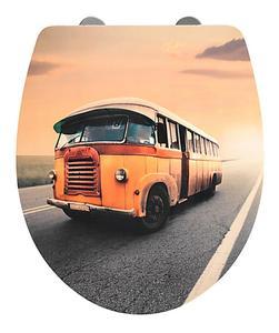 Wenko WC-Sitz Vintage Bus