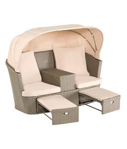 Dehner Twin Sofa mit Dachbezug, 169 x 98 x 135 cm