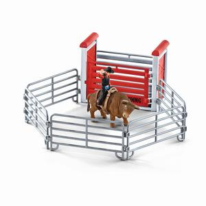 Schleich 41419 Bull riding mit Cowboy