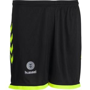 HUMMEL Handballshorts Campaign Herren schwarz/gelb, Größe: XS