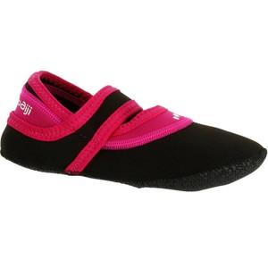 NABAIJI Aquaschuhe Aquafitness Aquaballerina Damen schwarz/rosa, Größe: 35/36