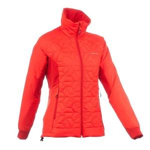 QUECHUA Wattierte Jacke Top-Light Damen rot, Größe: XS