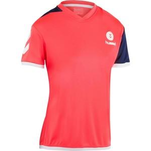 Handballtrikot Campaign Damen rosa/schwarz/weiß