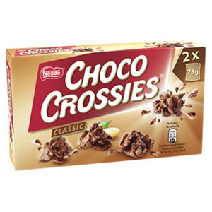 Nestle Choco Crossies oder Choclait Chips jede 150/115-g-Packung