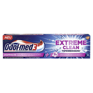 Odol-med3 Extreme Clean jede 75-ml-Packung